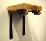 Violin Neck Shelf (detail)