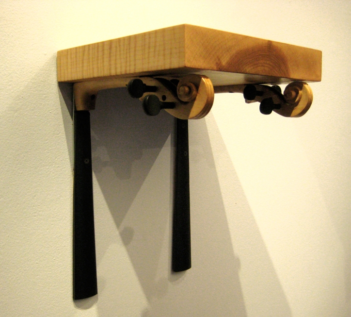 Violin Neck Shelf (detail)