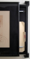 Clandestine (detail of hidden drawer)