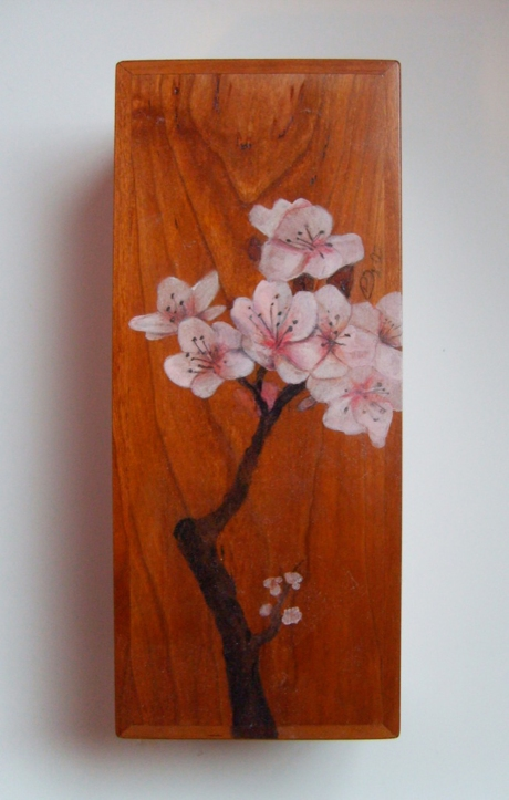 Cherry Blossom Jewelry Box