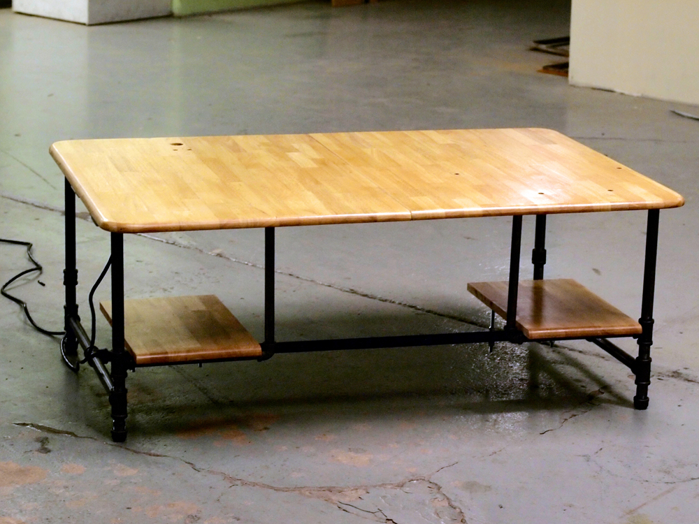 Working Work Table (front view)