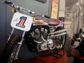 Evil Knievel's Harley!