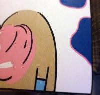 Step 2, paint.