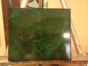 Too emerald?