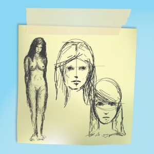 postit-sketches