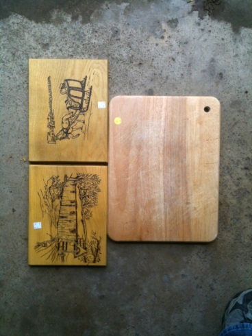 Cutting boards (before)
