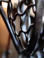 Treadle wheel guard