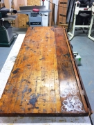 Jeweler's Cabinet (crud on the top surface before refurbishing)