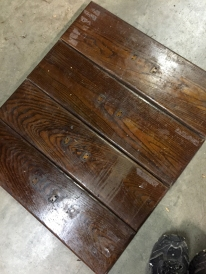 Drawer faces before reclaiming