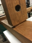 Mortise and tenon fitting