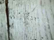 Stamped serial number