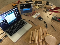 Writing out the initial Arduino program