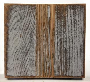 Freshly sanded antique wood