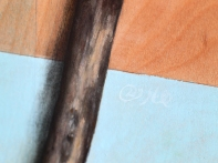 """Absolute: Graft"" (detail), oil painting on maple. 48"" x 36"". 2.3.16."