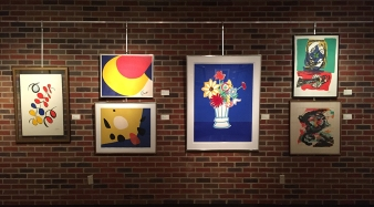 Miro, Calder, & more at The Schumacher Gallery