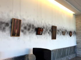 """""""Absolutes"""" by Daric Gill displayed at Hilton Downtown Columbus Atrium Lobby"""