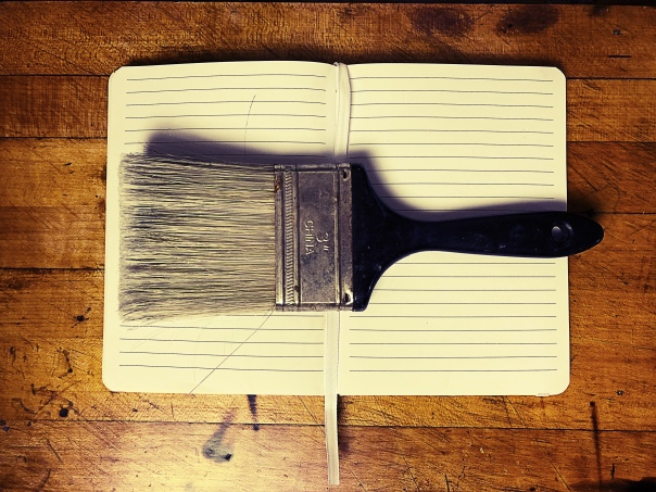 Brush & Notebook