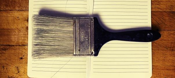 Brush & Notebook