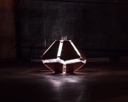 """""""The Shy Machine"""": Closed fully in the Learning Mode Position. Slow pulse of white light."""