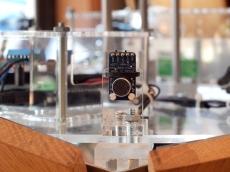 Detail shot of the microphone amplifier sensor - MAX9814.