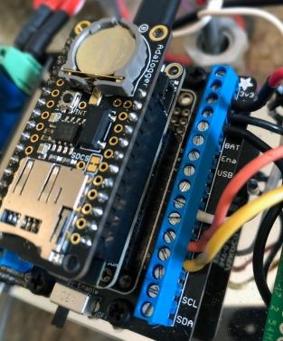 Adafruit Adalogger + Huzzah32 micro controller and Arduino codes