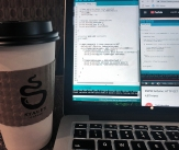 Months of programming went into this project. Over 27 pages of codes were written, most with the help of Staufs Coffee