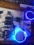 Testing NeoSense 2 (homemade board).