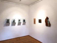 (left) works by Doro Haller, (right) works by Daric Gill